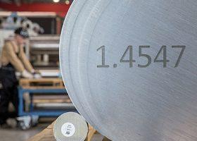 Werkstoff 1.4547 für  Offshore und Industrie S31254